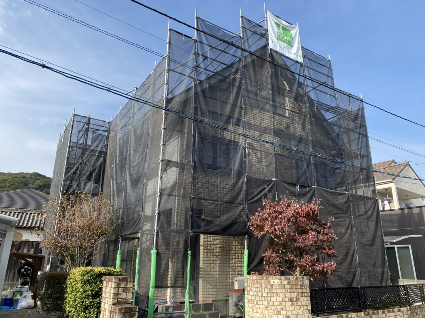 岡山市U様邸 工事の様子です。