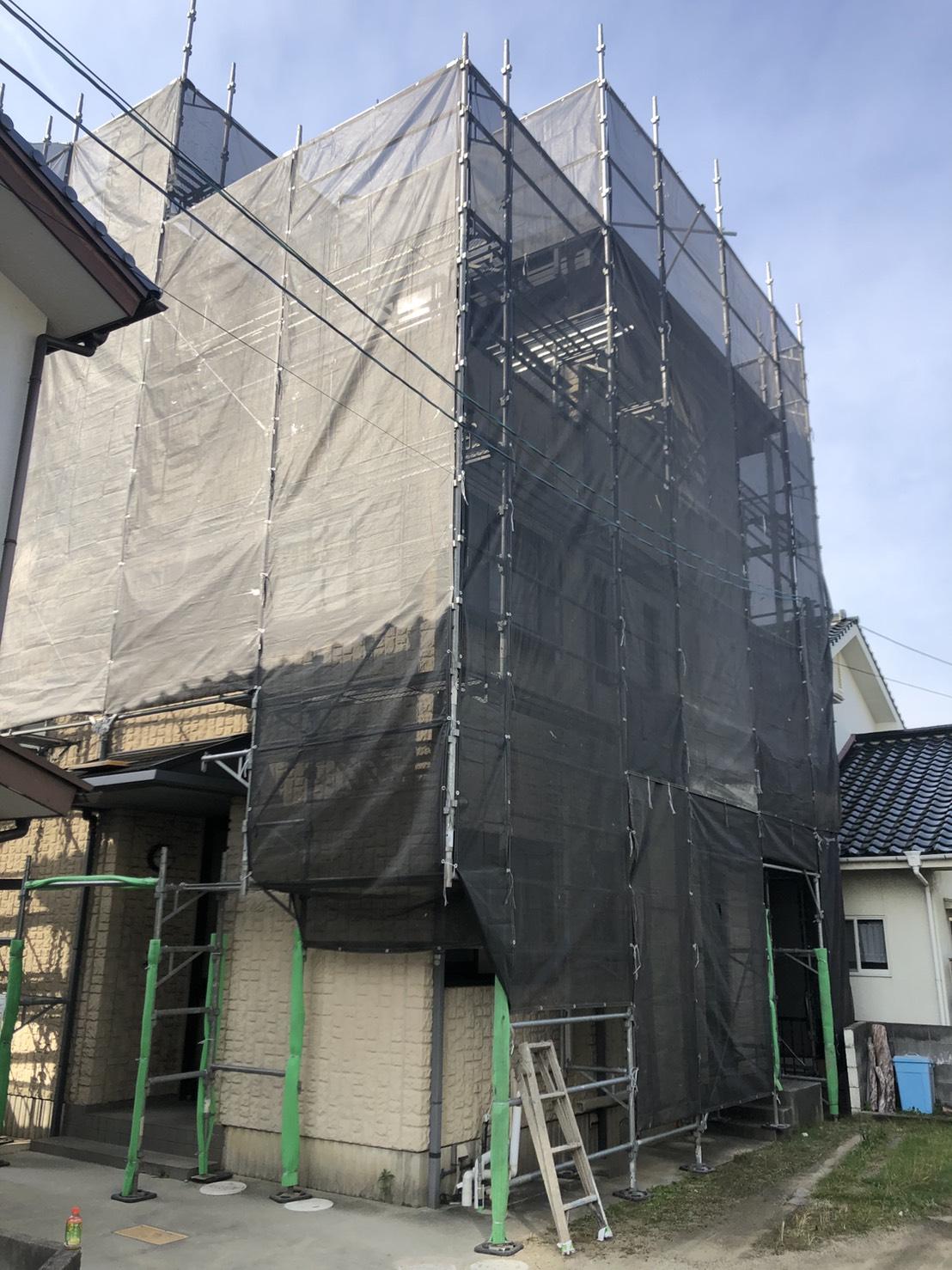 岡山市Y様邸 工事の様子です。