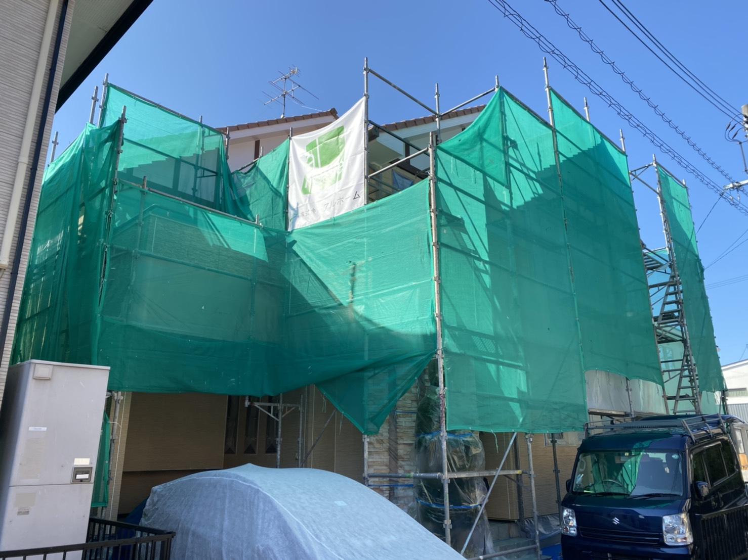 岡山市M様邸 工事の様子です。