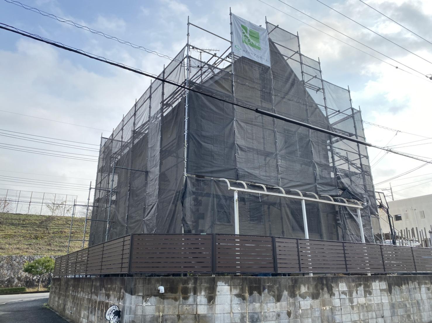 赤磐市S様邸 工事の様子です。