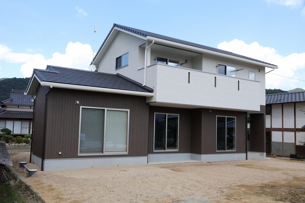 和気郡N様邸 完成しました。